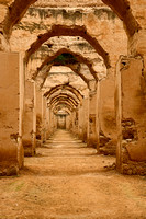 Palace stables in Meknes