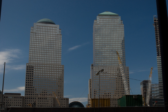 Former World Trade Center site